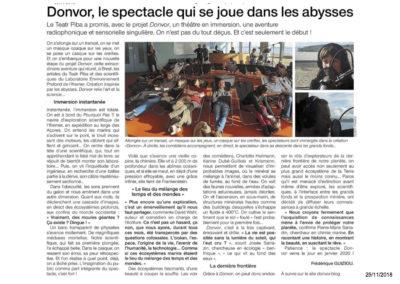 Donvor - Ouest France 25-11-2018